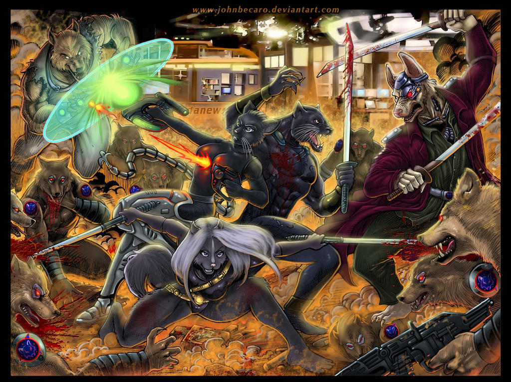 Forjust2 Draw: Total Battle by johnbecaro