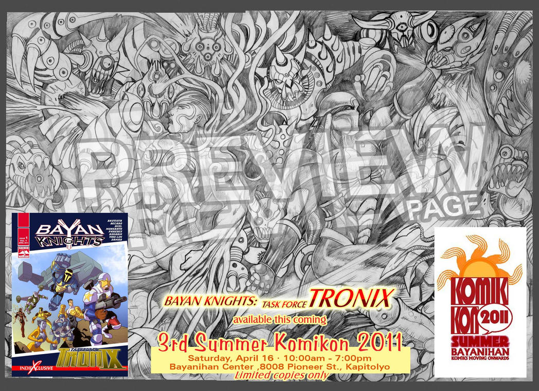 Preview: BayanKnights TRONIX by johnbecaro