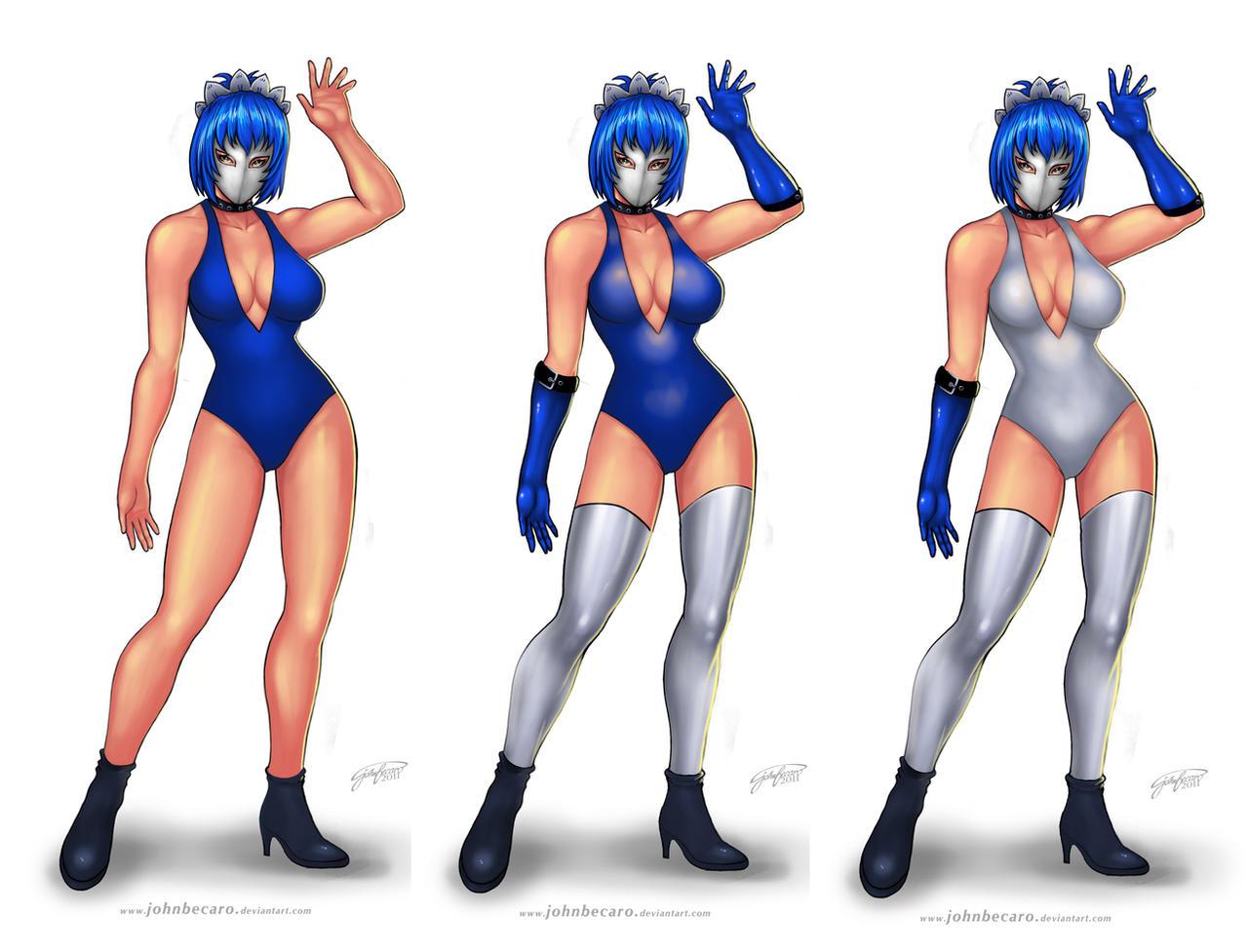 Ryomou Versions by johnbecaro