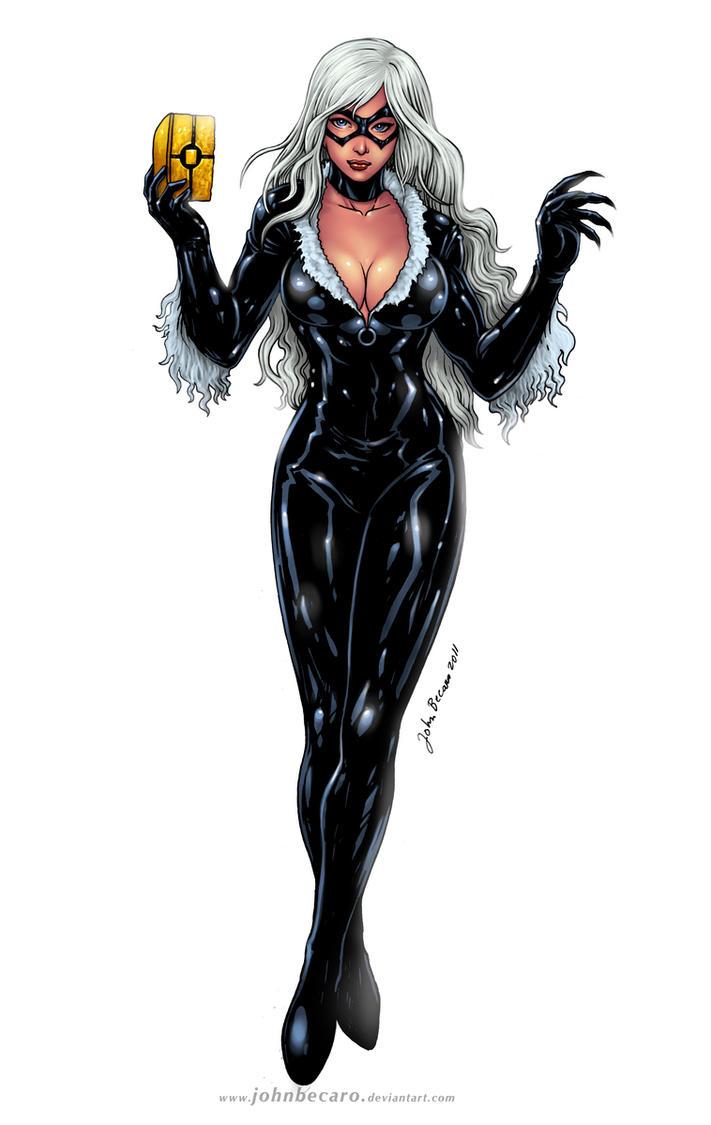 Commission: BLACK CAT by johnbecaro