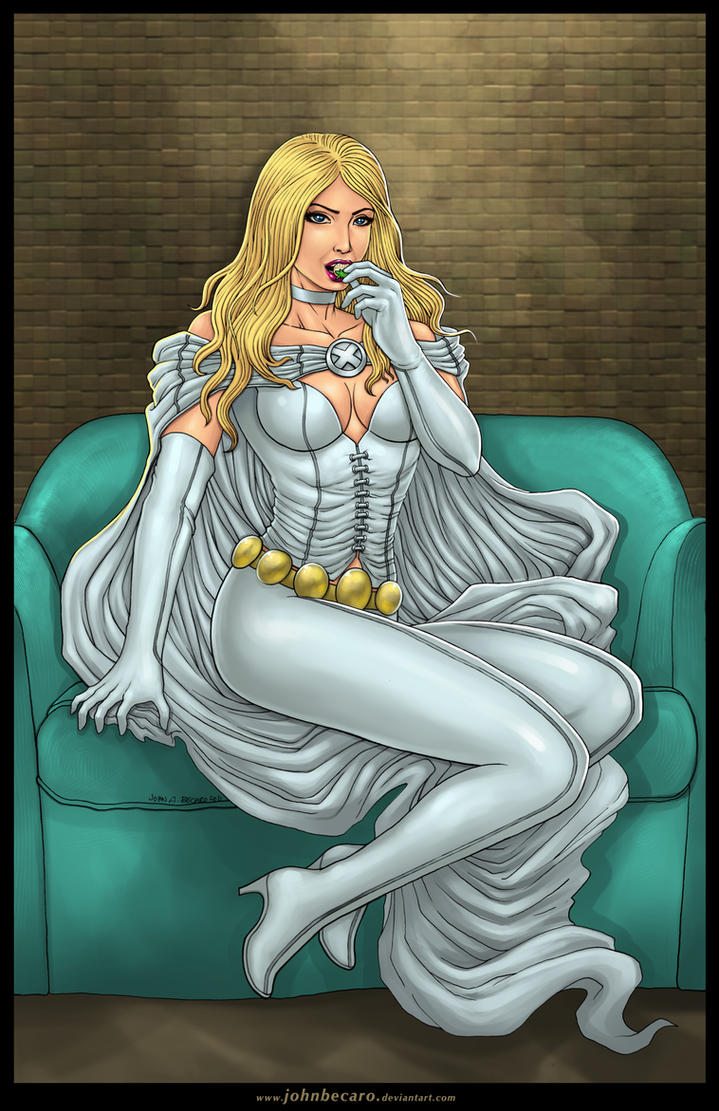 Commission: EMMA_FROST by johnbecaro