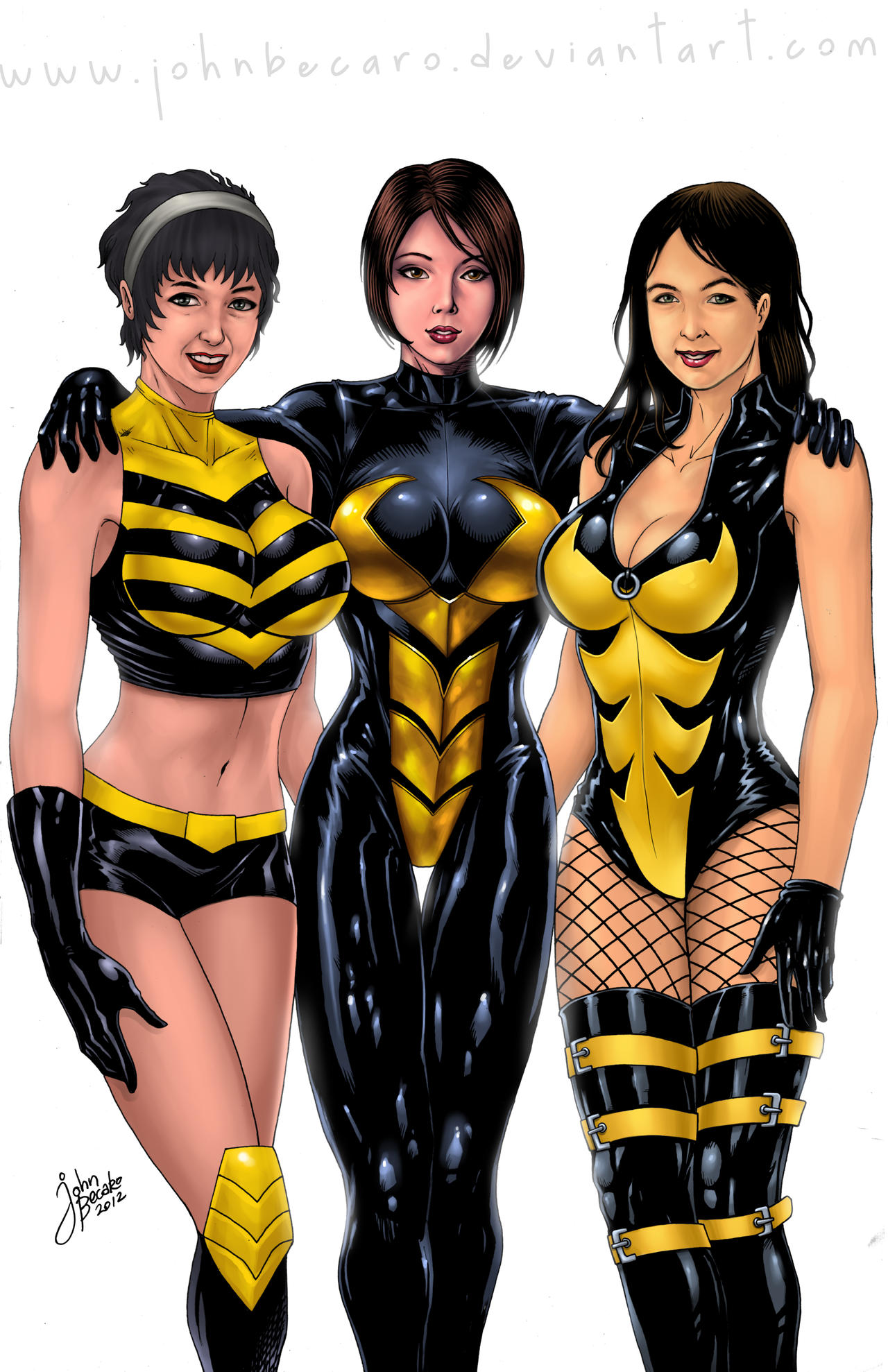 Commission: The Wasp Corps by johnbecaro