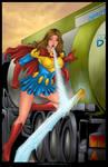 Commission: Lois Lane as Superwoman