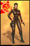 Commission: LT SOFIA from Red Alert 2