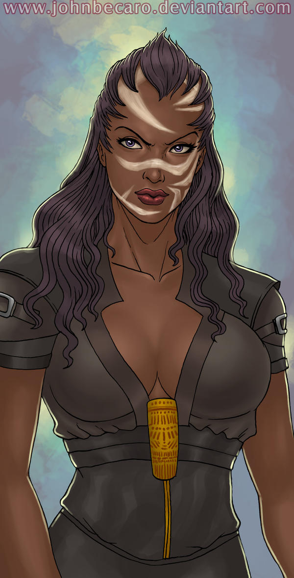 $20 Bust Commission: ERYN by johnbecaro
