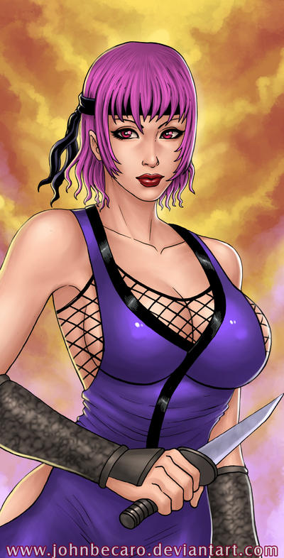 $20 Bust Commission:  AYANE  from Dead or Alive by johnbecaro
