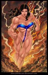 Commission: Lady Titan