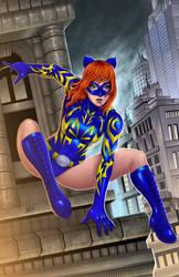 The Daring Hellcat  Cover by johnbecaro