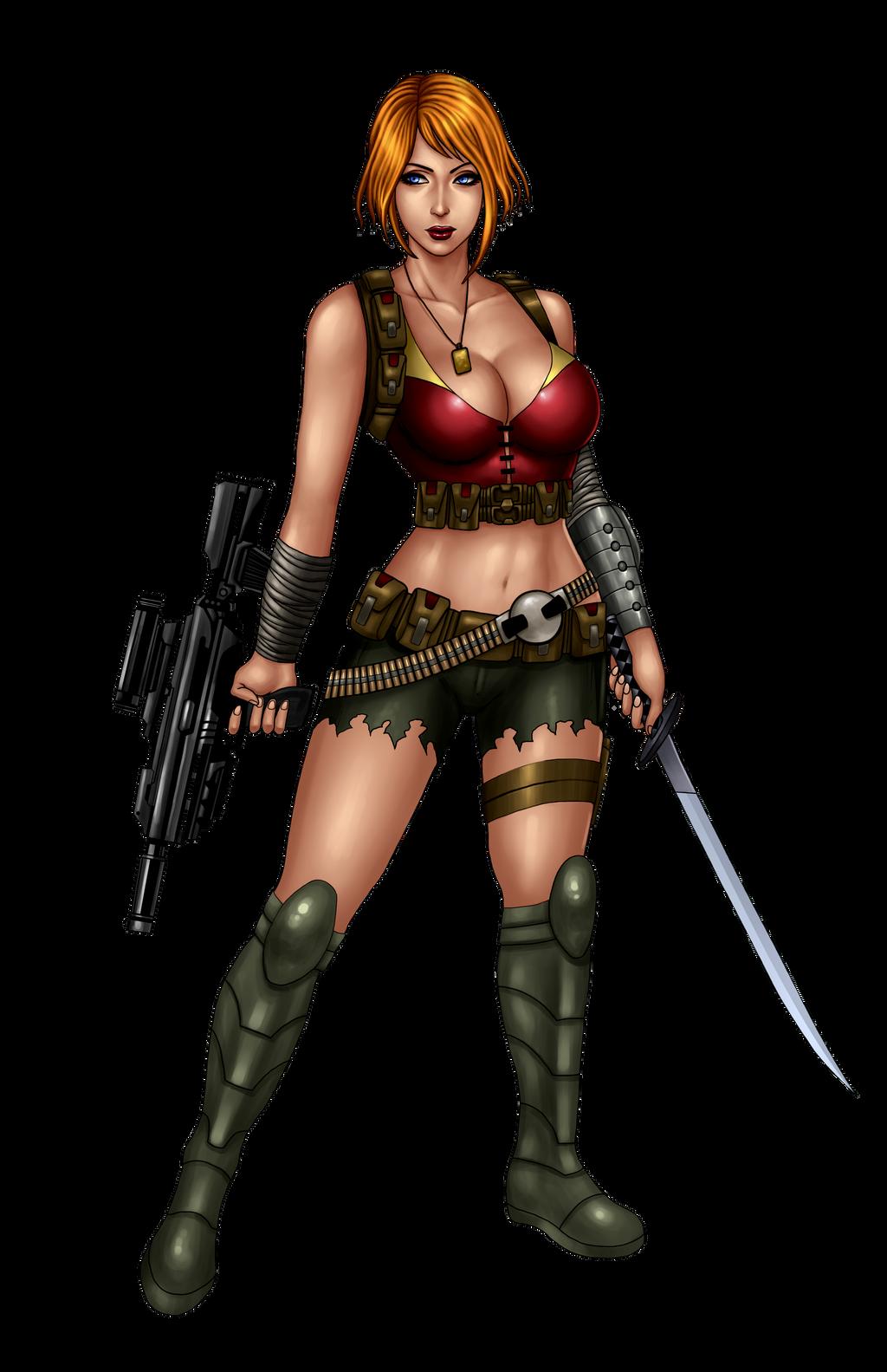 Tomkellyart 170 23 Zombie Slayer Slots Character 1 By Johnbecaro