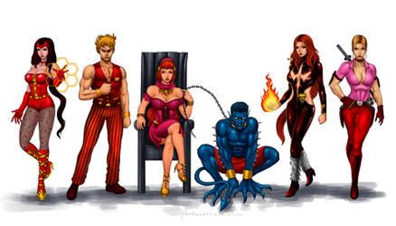 Commission: Hellfire Club by johnbecaro