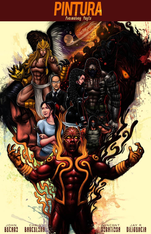 COVER Art of PINTURA : Panimulang Yugto by johnbecaro