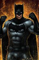 BATMAN colored by johnbecaro