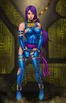 Commission: Psylocke captured again