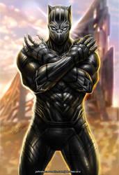 Black Panther by johnbecaro