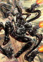 Agent Venom by johnbecaro