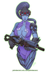 Widowmaker by johnbecaro