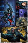 Venom and Spiderman Merger