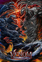 Venom vs Riot by johnbecaro