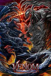 Venom vs Riot by johnbecaro