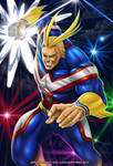 ALL MIGHT by johnbecaro