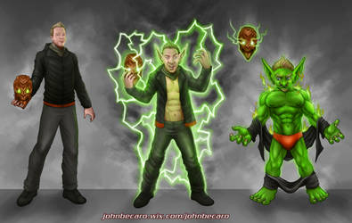 Commission: Goblin transformation by johnbecaro