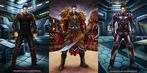 The Dragon warrior police by johnbecaro