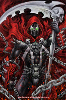 Commission: SPAWN Reaper
