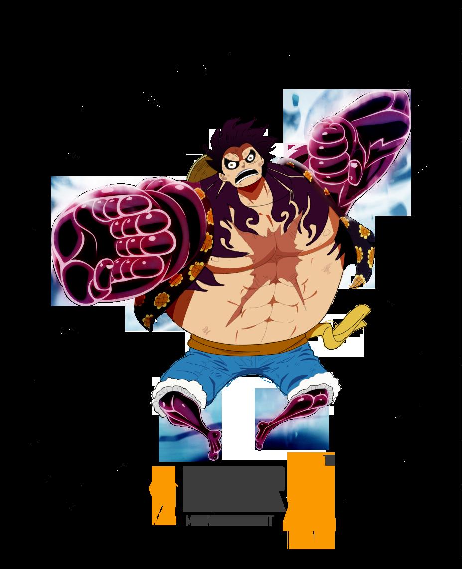 One Piece - Luffy Gear... One Piece Wallpaper Luffy Gear Fourth