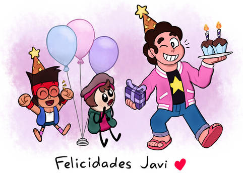 Birthday Gift for Javi
