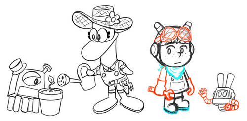 Nina and Pato Redesigns