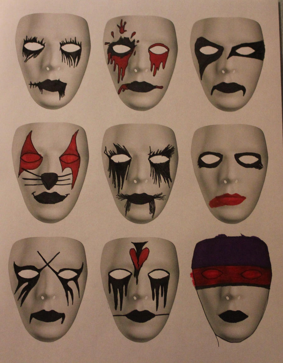 Mask Designs 11 By Zombis cannibal On DeviantArt