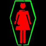 Murderdolls Logo Pop Art