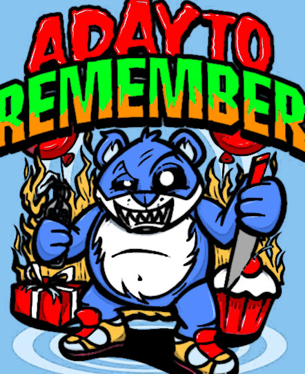 A Day To Remember Pop art by  A Day To Remember Designs