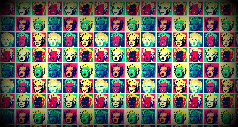 Marilyn Monroe Pop art Tribute by zombis-cannibal