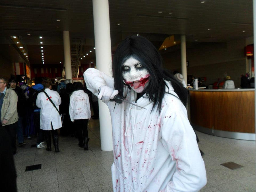 Jeff the Killer Cosplay - Creepin' Around by Shadow-Industries