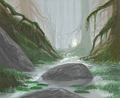 Ancient Swamp by yonaz
