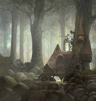 somewhere in the woods by yonaz