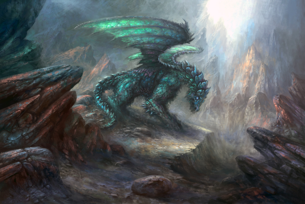 Mountain Dragon by yonaz