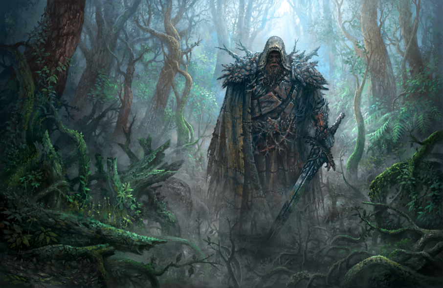 Forest Knight by yonaz