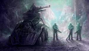 post nuclear bandits by yonaz