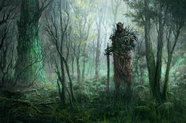 wood warrior by yonaz