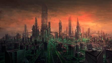 cityscape 2 by yonaz