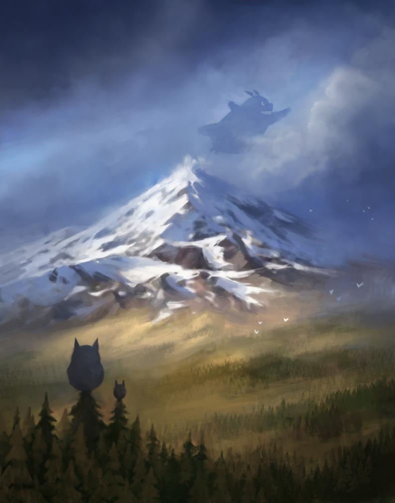 Totoro by yonaz