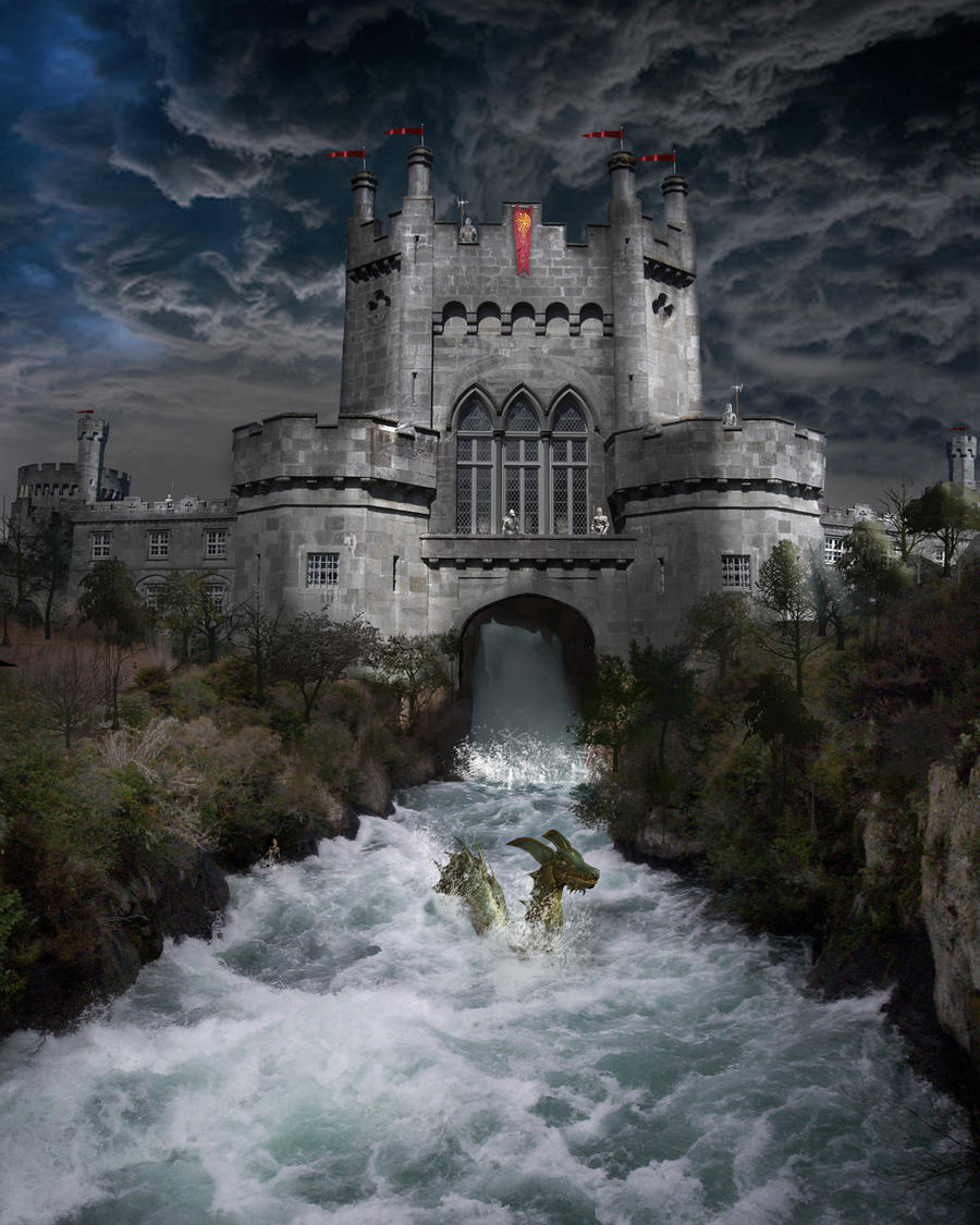 River Castle By Goodtea On Deviantart