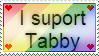 I suport Tabby stamp by TheIndianaCrew