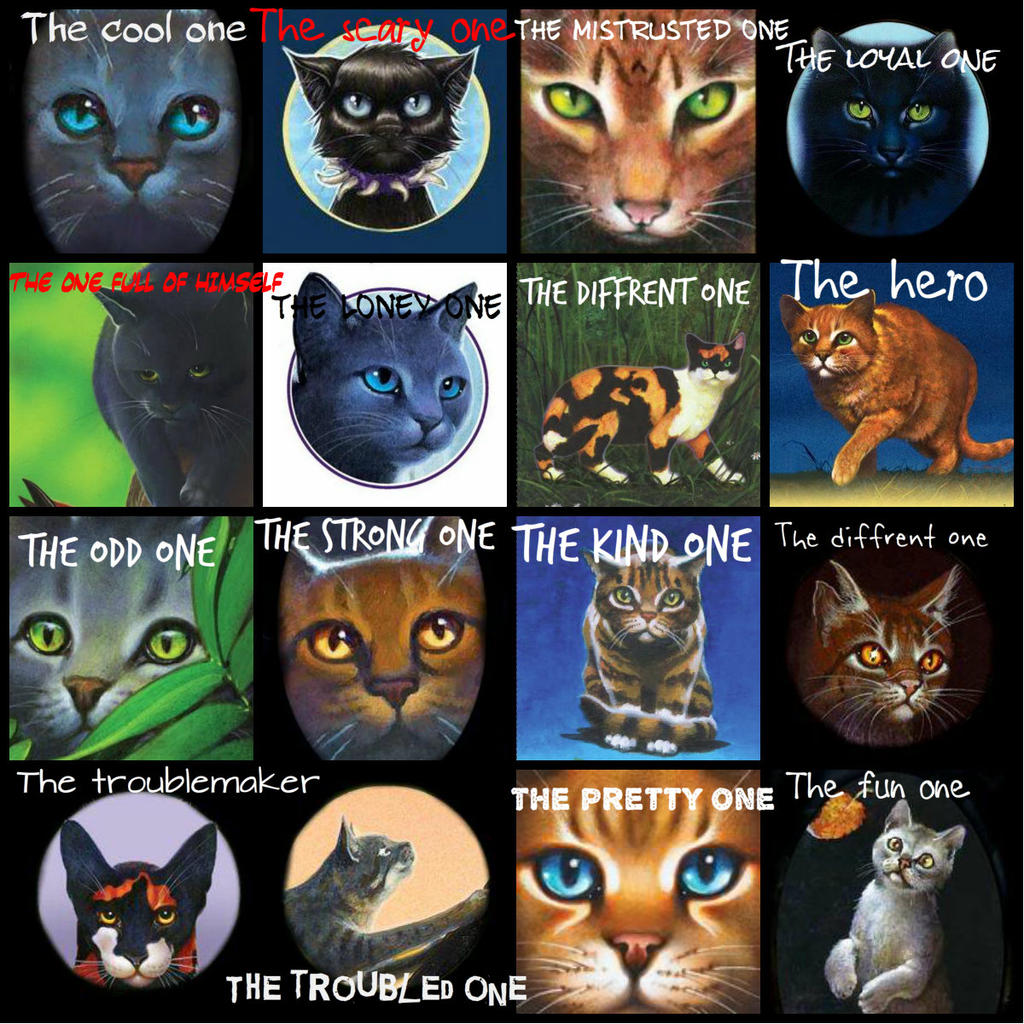 Warriors Dawn Of The Clans List: Warrior Cats Tag (for Facebook Tagging) By TheIndianaCrew