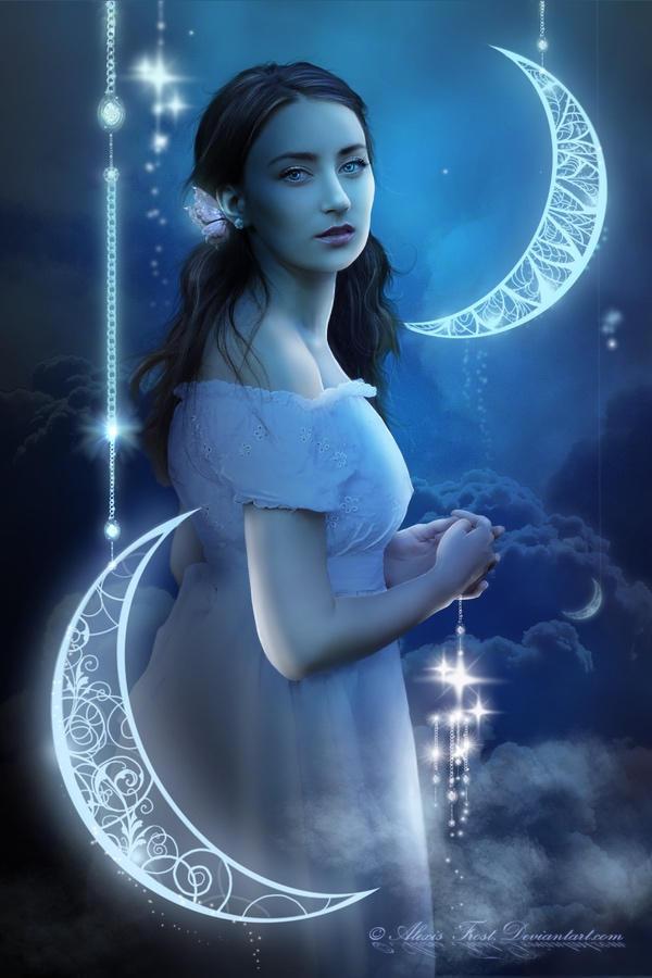 Lei e la Notte by FrostAlexis