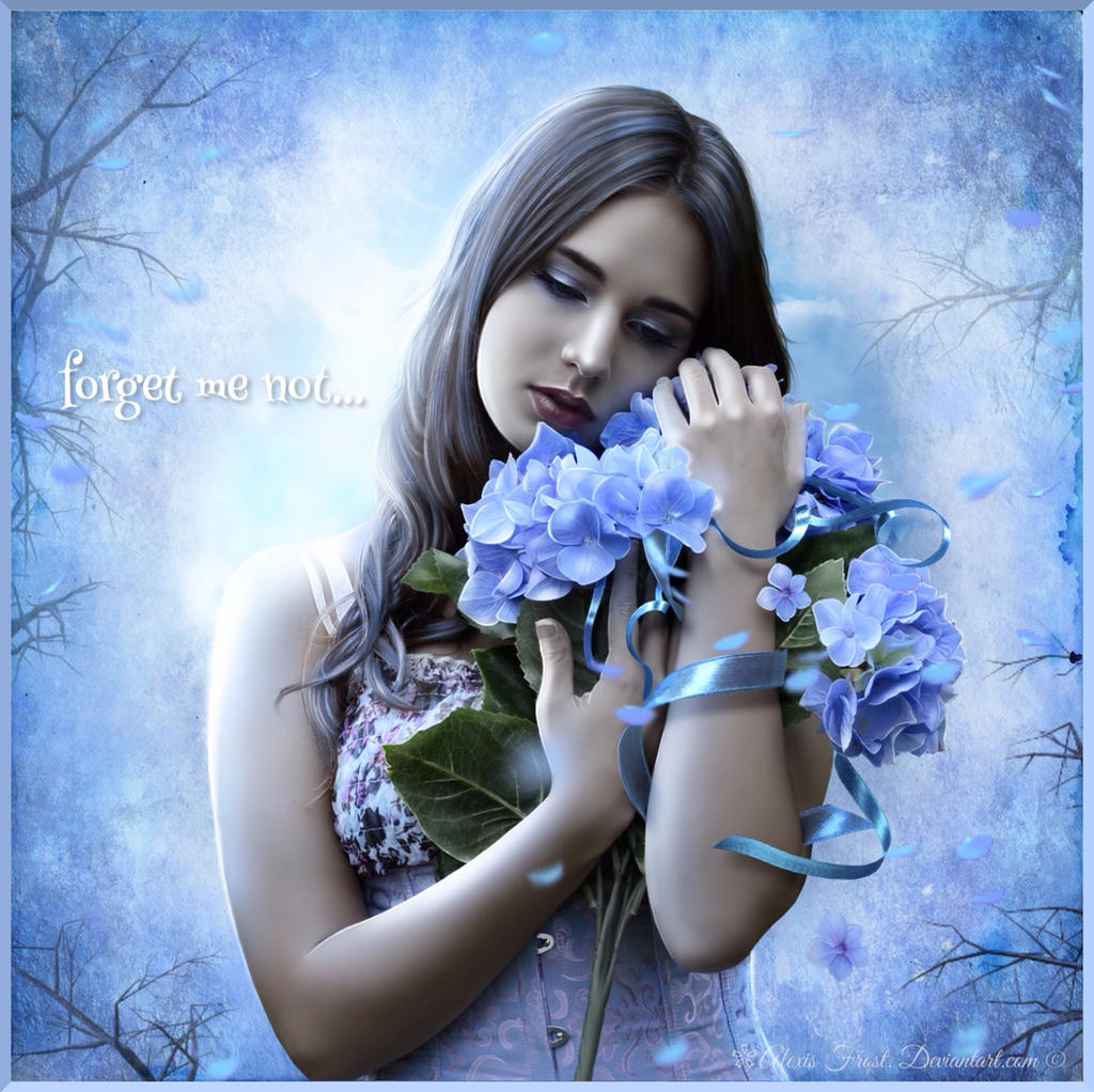 Forget Me Not... by Alexis-Frost