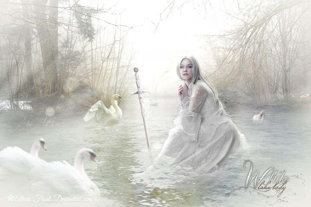 White Lake Lady by Alexis-Frost