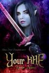 Elf Warrior Book cover (Sold)